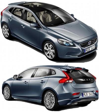 Présentation de la nouvelle génération de Volvo V40.